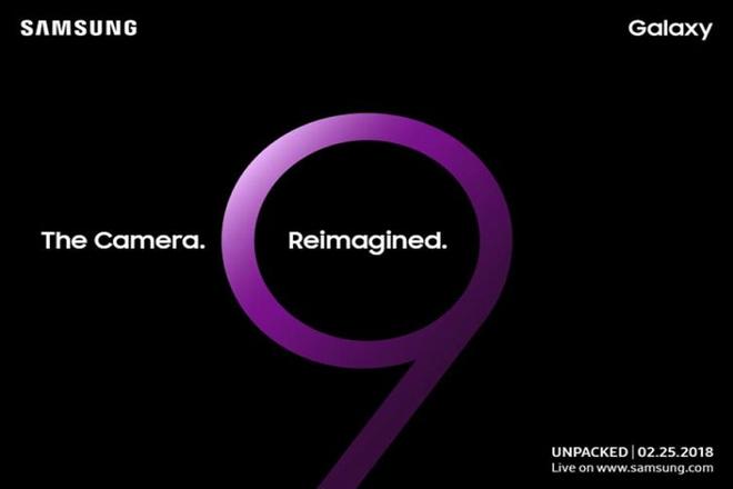 Samsung gui thu moi ra mat Galaxy S9 ngay 25/2 hinh anh 1