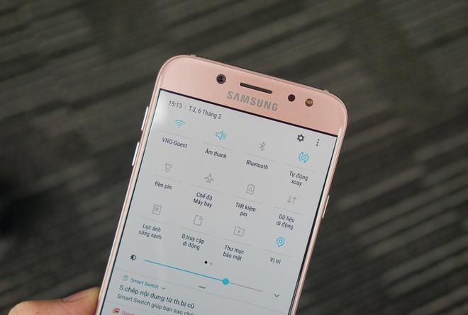 Can canh Galaxy J7 Pro mau hong cho mua Valentine hinh anh 6