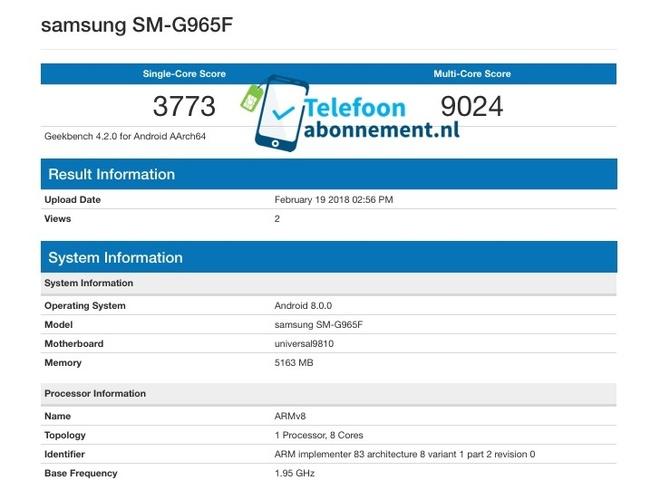 Galaxy S9+ hieu nang cao ky luc anh 1