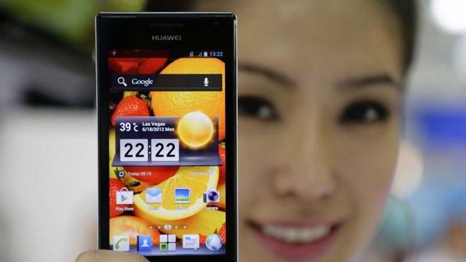Huawei: 'Doi thu dung bien phap chinh tri ngan chung toi vao My' hinh anh