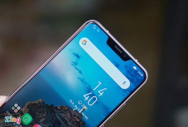 Anh thuc te 'iPhone X chay Android' cua Asus tai Viet Nam hinh anh 2