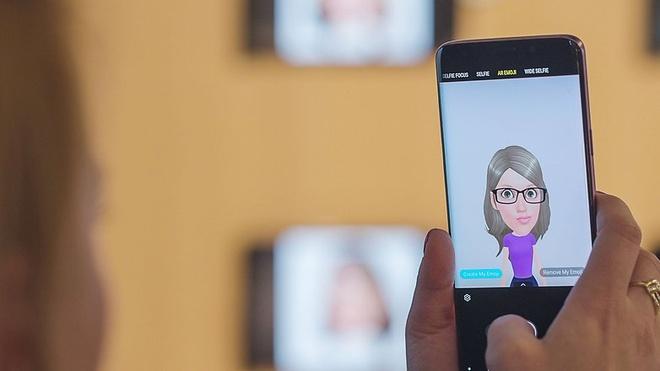Nhung diem nhan sang gia tren Galaxy S9 va S9+ hinh anh