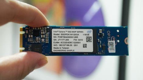 O SSD toc do sieu nhanh tu Intel hinh anh
