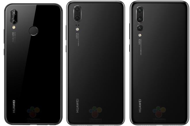 Bo 3 Huawei P20 lo toan bo hinh anh, thong so truoc ngay ra mat hinh anh 2