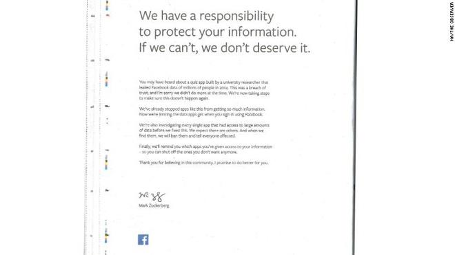 Mark Zuckerberg mua quang cao tren hang loat bao giay de xin loi hinh anh 2