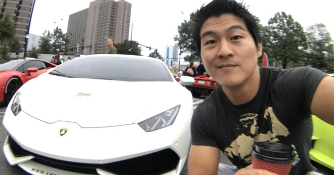Trieu phu Bitcoin thich Lamborghini anh 1