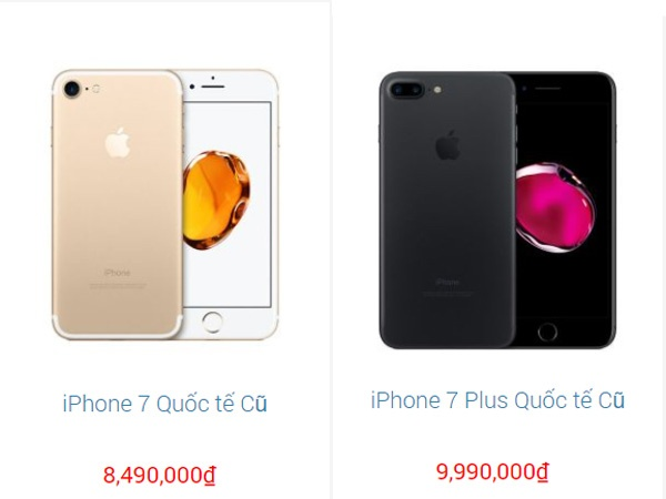 iPhone 7,  7 Plus giam gia anh 1