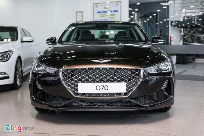 Genesis G70 - doi thu moi cua Mercedes C-Class tai VN hinh anh 2