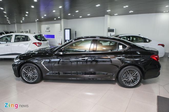 Genesis G70 - doi thu moi cua Mercedes C-Class tai VN hinh anh 7