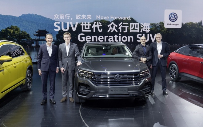 Volkswagen Touareg 2019 an toan hon voi Night Vision hinh anh 3