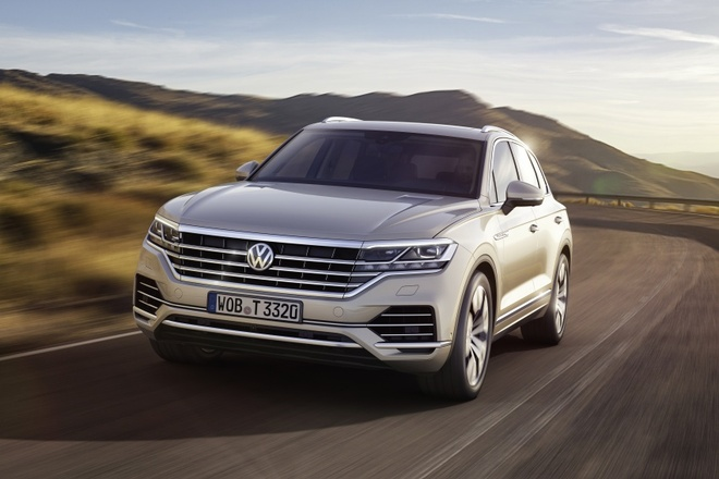 Volkswagen Touareg 2019 an toan hon voi Night Vision hinh anh