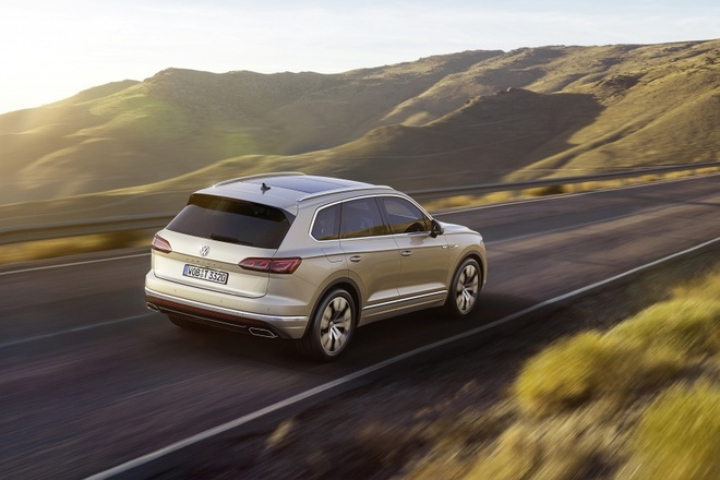 Volkswagen Touareg 2019 an toan hon voi Night Vision hinh anh 8
