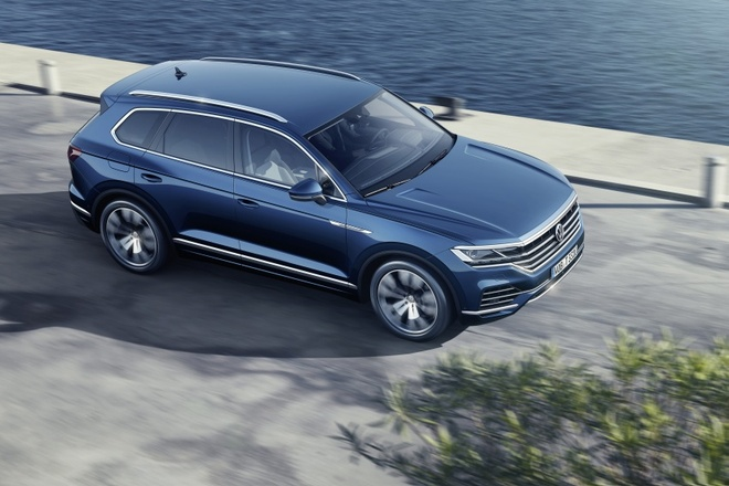 Volkswagen Touareg 2019 an toan hon voi Night Vision hinh anh 2