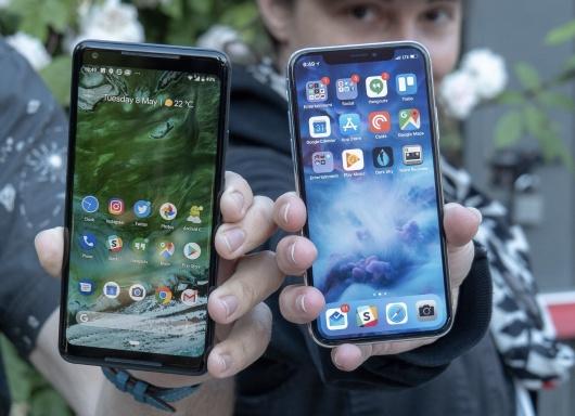 Android da tot hon iOS, nhung la phien ban nao? hinh anh