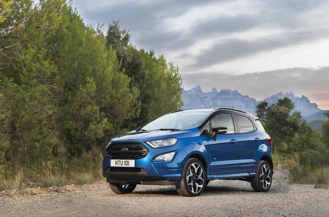 Consumer Reports khong danh gia cao Ford EcoSport hinh anh
