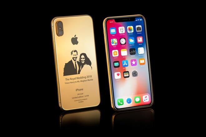 iPhone X ban dam cuoi Hoang gia anh 1