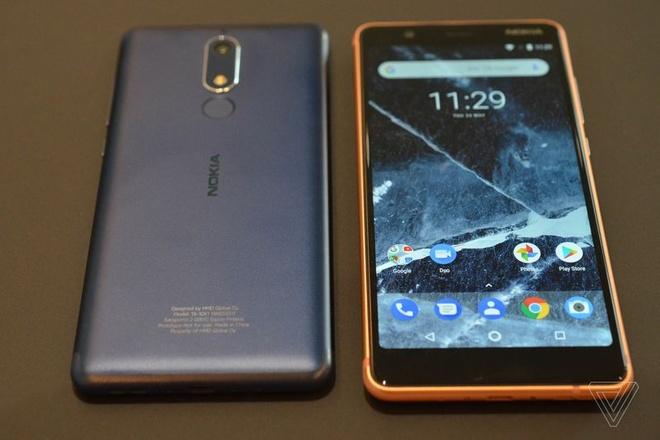 Nokia 5.1, 3.1 va 2.1 gia re trinh lang, gia tu 115 USD hinh anh 3