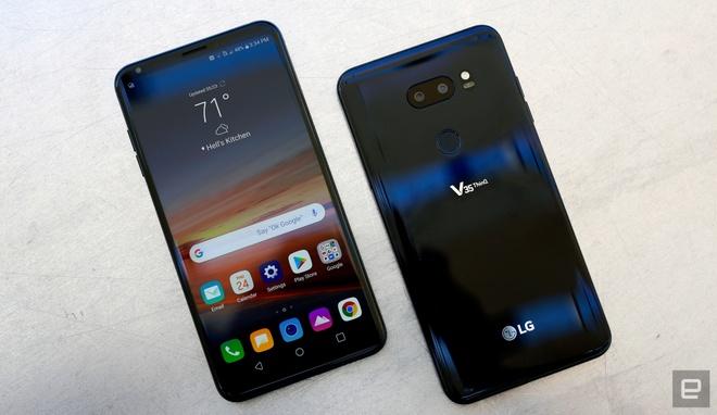 LG tung smartphone cao cap thu 3 trong 3 thang hinh anh