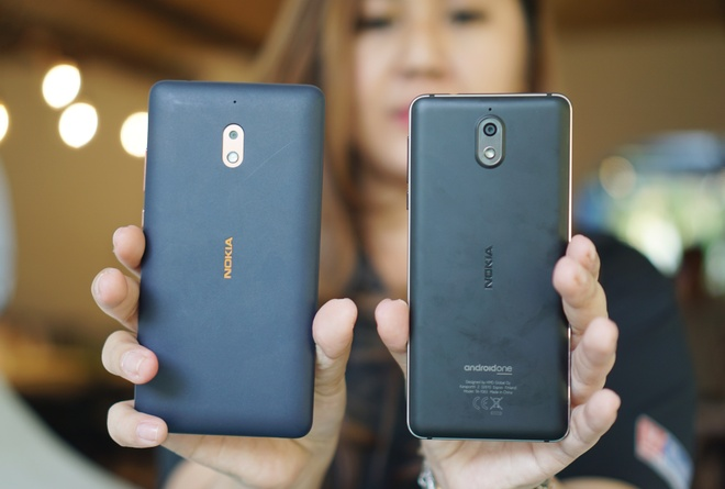 Nokia 2.1, 3.1 gia re, chay Android goc ve Viet Nam hinh anh