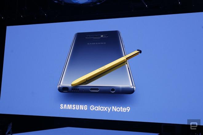 Galaxy Note9 ra mat: Manh me, pin khoe, but S Pen moi hinh anh 6