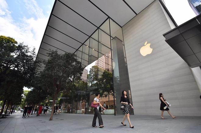 Mot so nguoi VN den Singapore mua iPhone bi tu choi nhap canh hinh anh