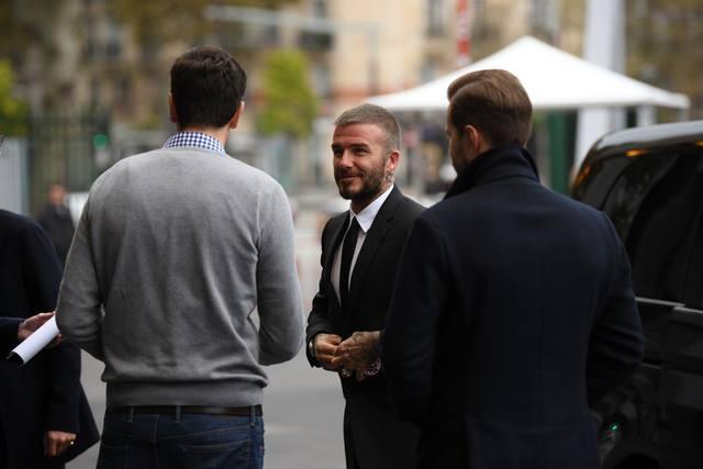 Beckham, hoa hau Tieu Vy den ra mat xe VinFast hinh anh 12
