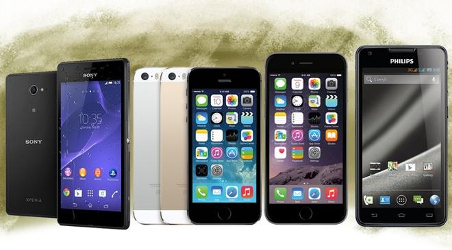 iPhone 6 va Zenfone 5 la smartphone tot nhat thang 9 hinh anh