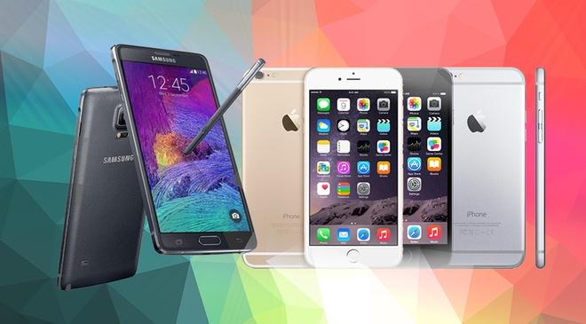 iPhone 6 va Note 4 la smartphone tot nhat thang 10 hinh anh