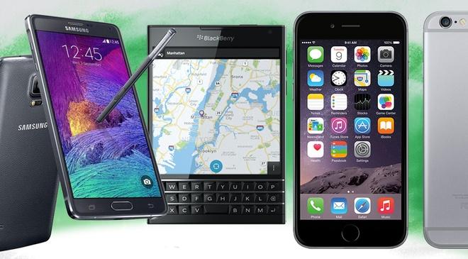 iPhone 6 va Note 4 la smartphone tot nhat thang 11 hinh anh