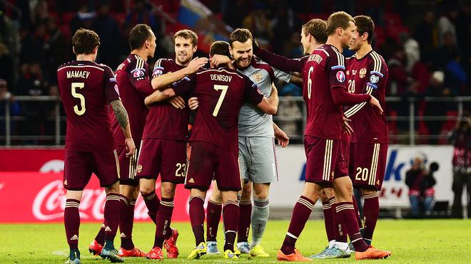 Lich thi dau Euro 2016 va doi hinh - Tuyen Nga hinh anh