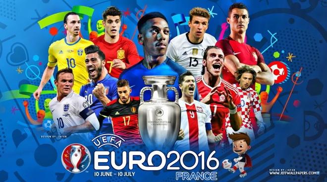 Lich thi dau va phat song truc tiep Euro 2016 hinh anh