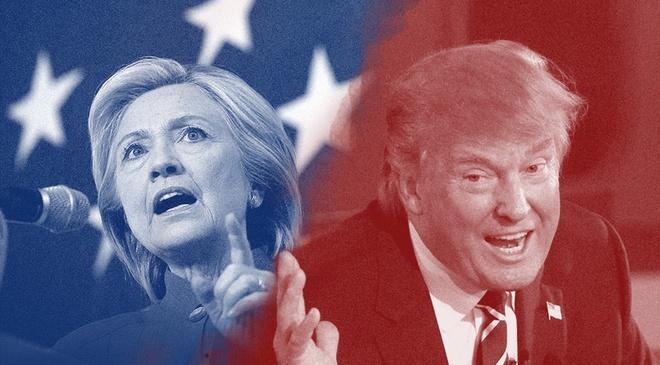 8 quan diem khac biet cua Clinton va Trump hinh anh