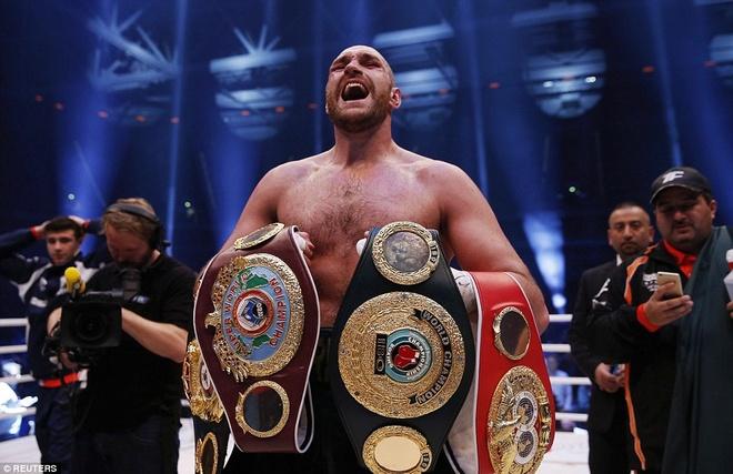 'Tien si bua thep' Klitschko het thoi vi suc tre cua Fury hinh anh 3 Tyson Fury sẽ thay Wladimir Klitschko để thống trị làng quyền anh? Ảnh: Reuters.
