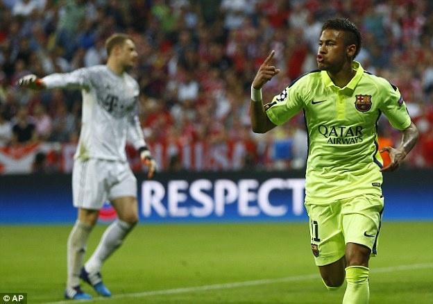 Co khi nao QBV 2015 se pha huy Neymar-Messi? hinh anh 3 Neymar vẫn có cơ hội đoạt QBV. Ảnh: AFP.