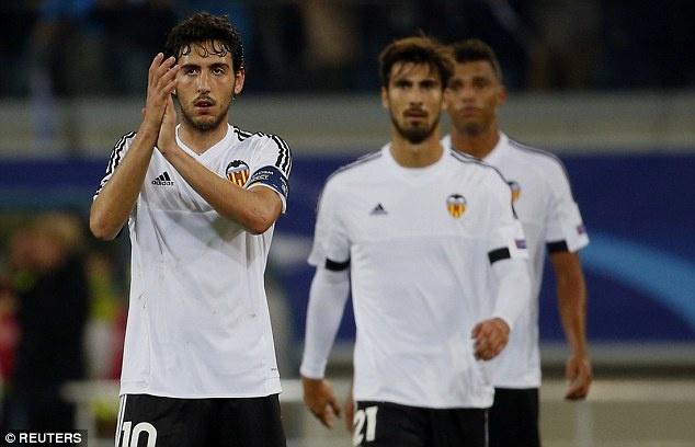 Dai gia chau A va tham vong 'dao vang' tu the thao chau Au hinh anh 4 Valencia thi đấu chưa thật sự khởi sắc. Ảnh: Getty Images.