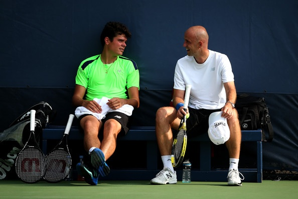 Federer 'tram' tuong: Khi ga khong lo khong bao gio ngu hinh anh 4 Ivan Ljubicic từng huấn luyện cho Milos Raonic.