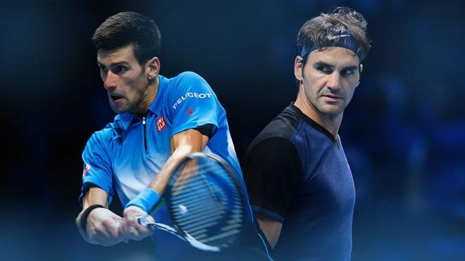 Thu hung Federer - Djokovic: Giua hai the gioi hinh anh