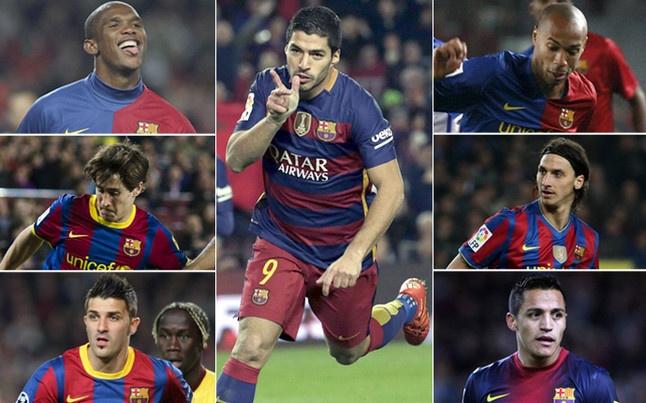 Luis Suarez pha loi nguyen so 9 o Barca hinh anh 1
