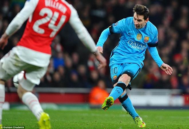Doc than chu, Barca diet gon Arsenal hinh anh 2