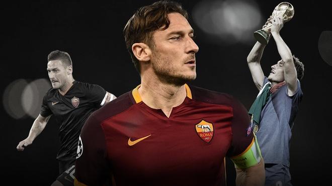 Francesco Totti va loi tam biet cua vi vua thanh Rome hinh anh