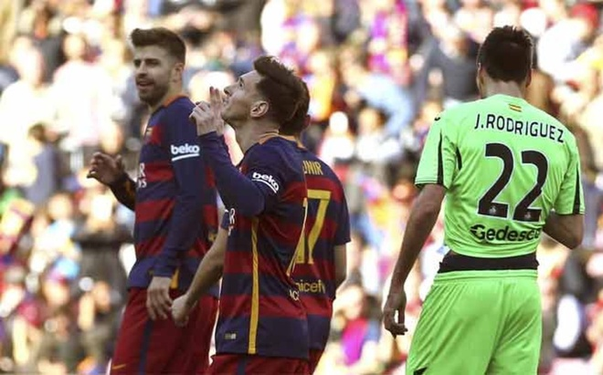 Giai La Liga khong con phu hop voi Barcelona hinh anh