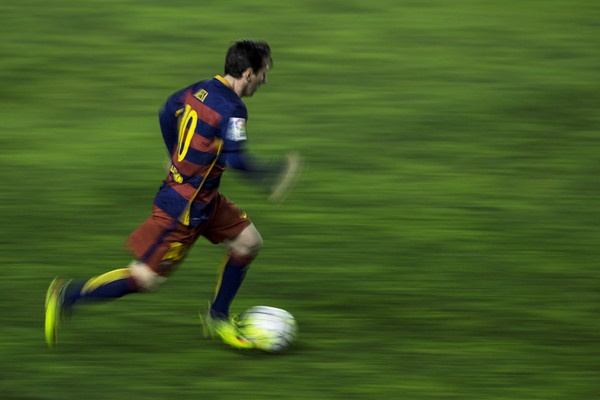 Barca san lung Messi moi tren dat My hinh anh 2