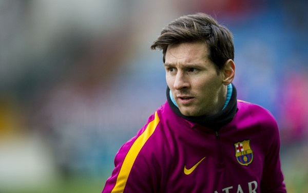 Barca san lung Messi moi tren dat My hinh anh