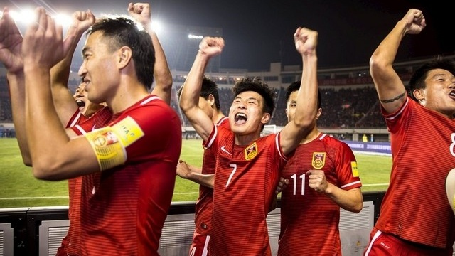 Phep la hoi sinh giac mo World Cup cua Trung Quoc hinh anh