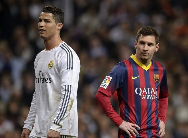 Neu mot ngay Ronaldo va Messi doi mau ao hinh anh