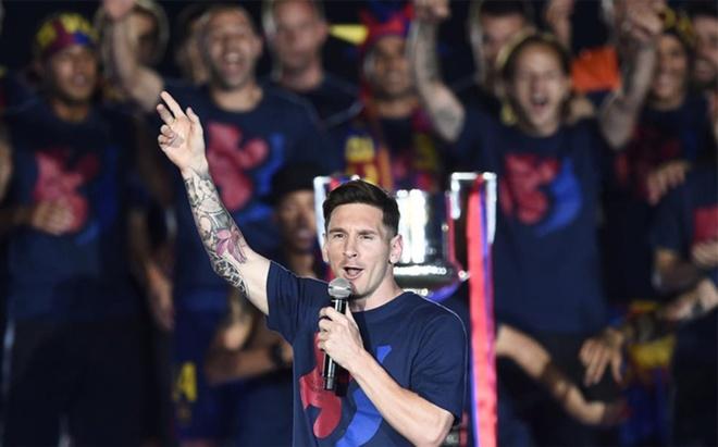 Barcelona se vo dich La Liga ngay trong thang 5 hinh anh 1