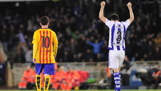 Chuyen gi dang xay ra voi Messi? hinh anh 1