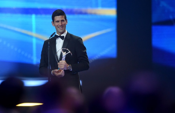 Djokovic qua mat Messi gianh giai Laureus hinh anh 1