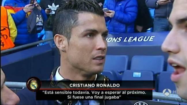 Ronaldo co the vang mat trong tran luot ve voi Man City hinh anh 1