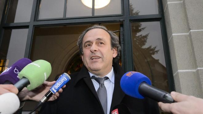 Michel Platini tu chuc chu tich UEFA hinh anh